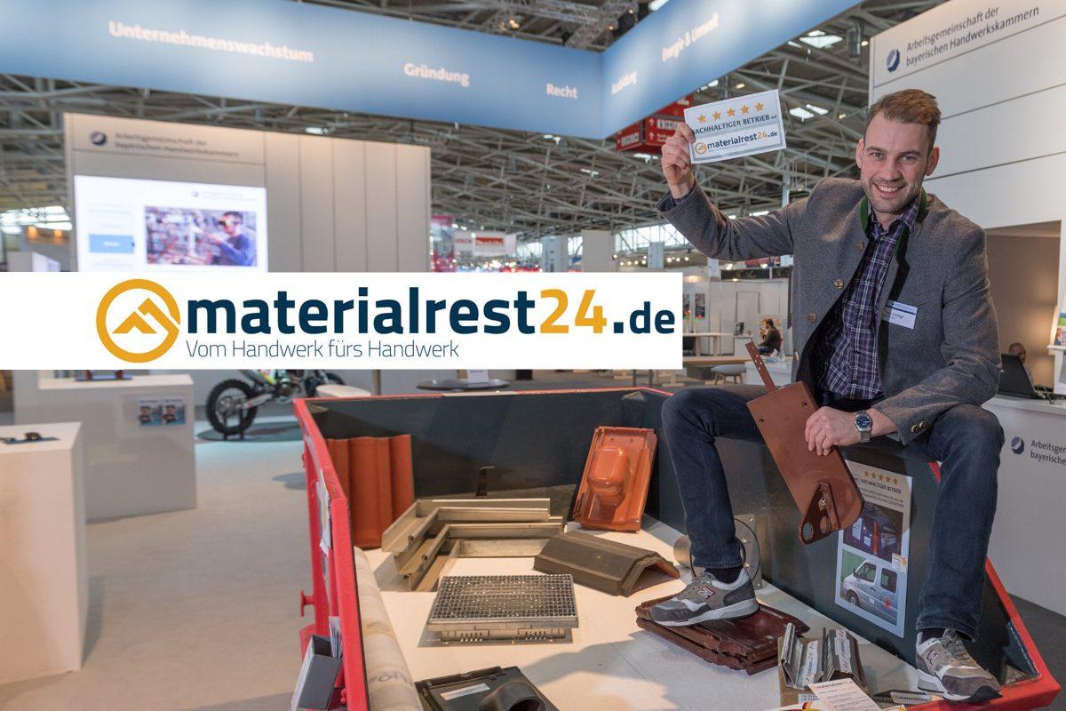 Deutscher Rohstoffeffizienz-Preis – materialrest24.de weiterhin auf Erfolgskurs