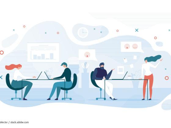 Kosten sparen – Büroarbeitsplatz teilen