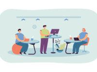 Mein Tisch, Dein Tisch, unser Tisch – Desksharing wird immer populärer